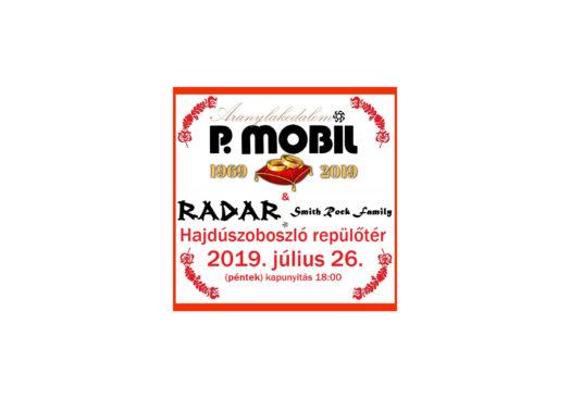 P.Mobil Aranylakodalom Tour 2019